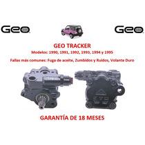 Bomba Licuadora Direccion Hidraulica Chevrolet Tracker 1993