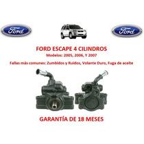 Bomba Licuadora Direccion Hidraulica Ford Escape 4cyl 2005