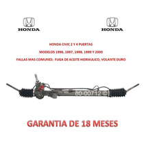 Caja Direccion Hidraulica Cremallera Honda Civic 2000