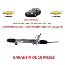 Caja Direccion Hidraulica Cremallera Bomba Chevrolet Malibu