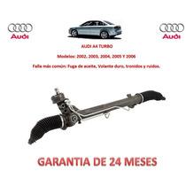 Caja Direccion Hidraulica Cremallera P/bomba Audi A4 Turbo