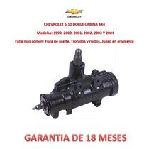 Caja Dirección Hidráulica Sinfín P/bomba Chevrolet S10 4x4