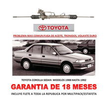 Caja Direccion Hidraulica Cremallera Toyotacorolla 88-92 Lbf
