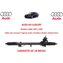 Caja Cremallera Direccion Hidraulica P/bomba Audi A4 2006