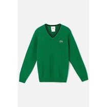 Sweater Original Color Verde Algodon Talla 10