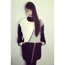 Suku 81067 Abrigo De Moda Largo Moda Japón $2799