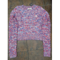 Nuevo Suéter Multi Color Abercrombie & Fitch Talla M