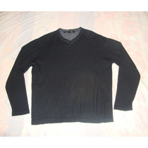 Excelente Sueter Zara Man Negro 100% Original
