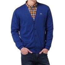 Lacoste Cardigan Sueter Sweater Polo Camisa Sudadera Tenis