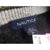 Sweater Nautica Classic Jeans, T-m, Excelente Precio!!!