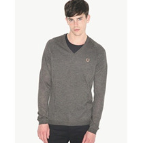 Sweater Fred Perry Raf Simons Metalico 38