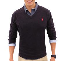 Suéter Polo Houston Hpc 3045-imp-mn