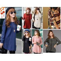 Moda Japonesa Oriental Asia Sueter Abrigo Tejido Bordados Xl