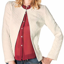 Sueter T/saco Cyh 4470 Color Beige Oi
