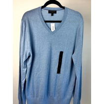 Sweaters Caballero Marca Banana Republic Color Celeste.