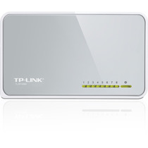 Switch Tp-link 8 Puertos 10/100 Mbps P/escritorio Tl-sf1008d
