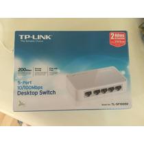 Switch 5 Puertos Tp-link Mod Tl-sf1005d Nuevo En Caja