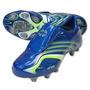 T 25mx Adidas Tacos Futbol Soccer F50.6 Tunit Azul Verde Gym