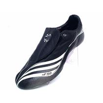 T-30mx Adidas Tacos Futbol Soccer +f50 Tunit Piel Negro Gym