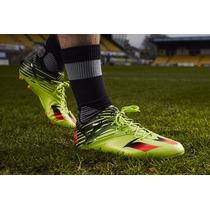 Taco Adidas Messi 15.1 Fg-ag Verde Profecional Solar Slime