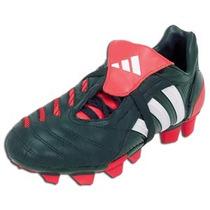 T25mx Adidas Tacos Futbol Predator Pulse 2 Trx Fg Negro Rojo