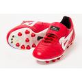 Zapato Futbol Olmeca Upper Pro Rojo