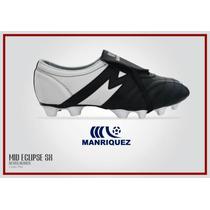 Zapato Manrriquez Mid Eclipse Negro/bco 2016