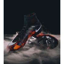 Tachos Nike Mercurial Superfly Cr7 Lava Cristiano Ronaldo