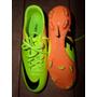 Tacos Nike Mercurial Victory Iv Fg Naranja Con Amarillo