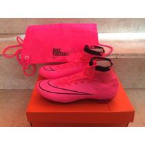 Tacos Futbol Nike Mercurial Vapor Acc Superfly Fibra Carbono