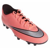 Nike Mercurial Vortex Ii Fg Tenis Tacos Futbol Adulto Naranj