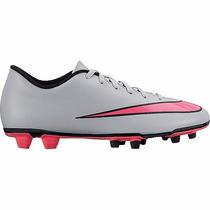 Tenis Nike C/ Tacos Mercurial Vortex Fg 651647-060 Gris Oi