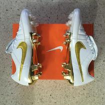 Tacos Nike Tiempo V Ronaldinho - Oro