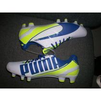 Tacos Soccer Evospeed 4, Puma 103095-01,talla 5.5 Mx