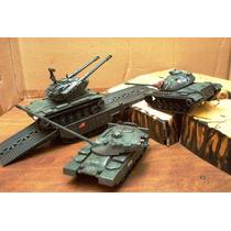 Lee Mi Anuncio Lote Flakpanzer Gepard & 3 Tanques Esc 1/48
