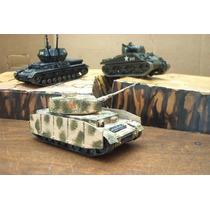 Lee Mi Anuncio Lote 2 Tanque Panzer & 1 Sherman Esc 1/48
