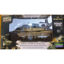 Vehiculo Militar.tanque.us.m1a2,abrams.1.72.forces Of Valor