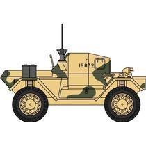Diecast Model - Oxford 1:76 Dingo Scouts De Coches 50th Rtr