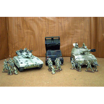 Lee Anunc Lote 3 Tanques C 20 Figura 1/32 Unimax & Academy