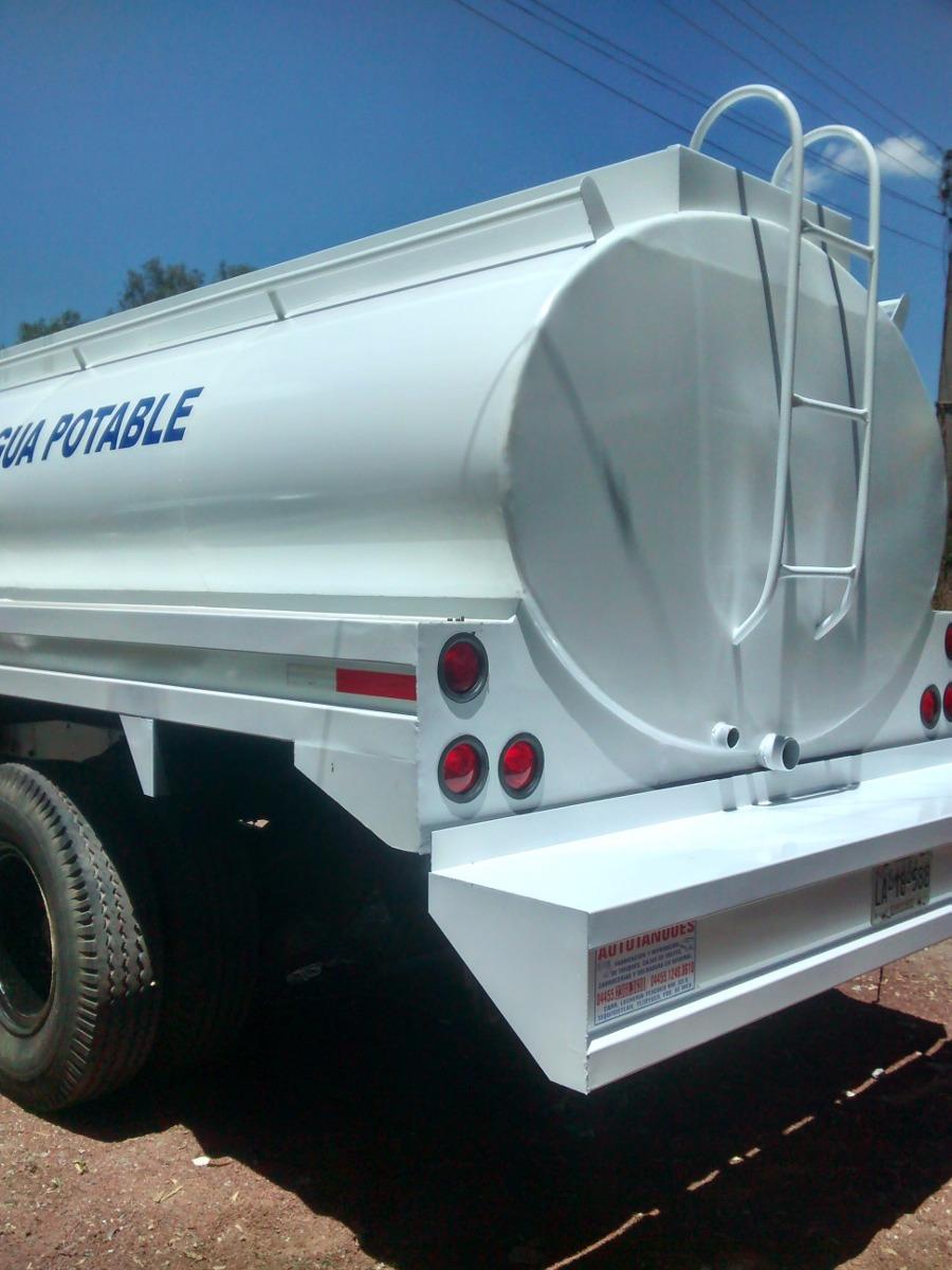 Tanques y pipas para agua potable de 10 000 litros for Precio estanque de agua 10000 litros