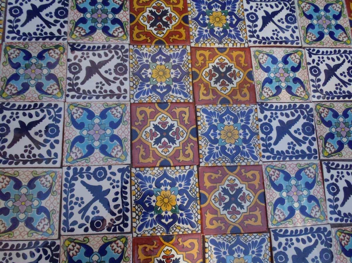 Im genes de azulejo talavera en queretaro pictures to pin for Tipos de azulejos