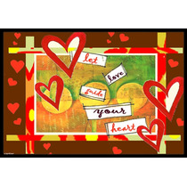 Deja Que El Amor Guíe Día Mat Interiores O Exteriores De T
