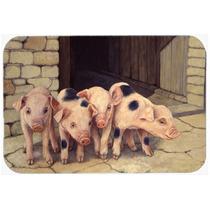 Cerdos Lechones De Daphne Baxter Cocina O Baño Mat 24x36 Bd
