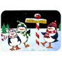 Polo Norte Le Da La Bienvenida Pingüinos De Cocina O Baño