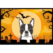 De Halloween Boston Terrier Mat Interiores O Exteriores De 2