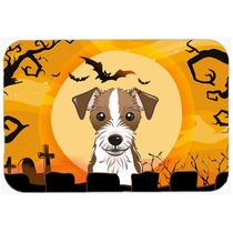 Halloween Jack Russell Terrier De La Cocina O El Baño Mat 2