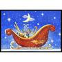 El Trineo De Santa De La Navidad Por Roy Avis Mat Interiores