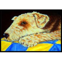 Mat Edredón En Interiores O Exteriores De Airedale Terrier