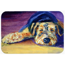 Snoozer De Airedale Terrier De La Cocina O El Baño Mat 20x3