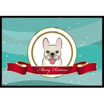 Mat Francés En Interiores O Exteriores Dogo Feliz Navidad 2